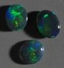 Black Opal set from Lightning Ridge